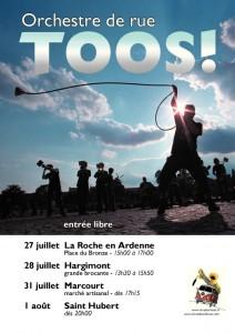 Affiche Tour 2013