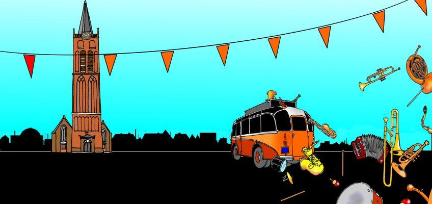 TOOS 30 jaar straatorkestenfestival: Beverwijk zaterdag 30 april