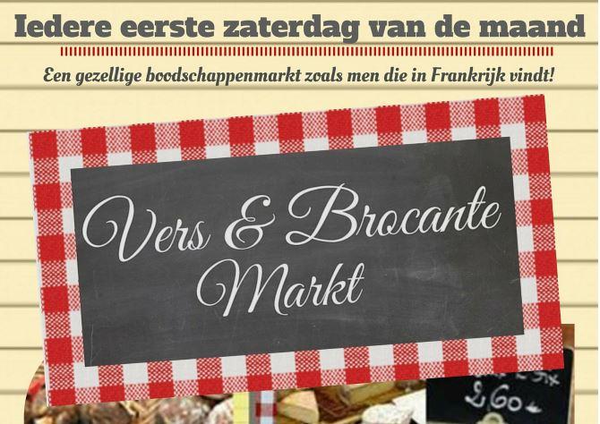 Optreden nummer 500: TOOS 5 nov op Vers & Brocante markt Beverwijk
